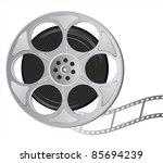 film reel slapstick film...   Shutterstock .eps vector #85694239