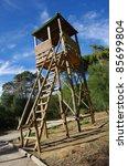 Wooden Fire Watch High Tower I...