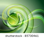 Abstract Green Background  No...