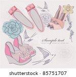 Fashion Shoes Illustration....
