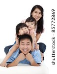 happy asian family | Shutterstock . vector #85772869