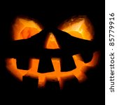 scary old jack o lantern on... | Shutterstock . vector #85779916