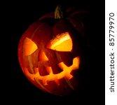 Scary Old Jack O Lantern On...