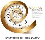 infinity time. vector... | Shutterstock .eps vector #85810390