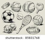 sport background | Shutterstock .eps vector #85831768