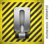 switch. vector illustration.... | Shutterstock .eps vector #85846915