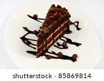 cake chocolate   Shutterstock . vector #85869814