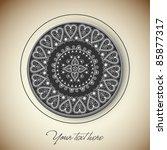 vintage greeting frame   eps10...   Shutterstock .eps vector #85877317