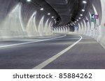 Interior Of An Urban Tunnel...