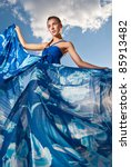 portrait of a beauty woman in... | Shutterstock . vector #85913482