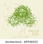 Olive Vector Tree
