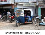������, ������: Auto rickshaw taxis on