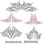 pinstripe design | Shutterstock .eps vector #85945426