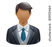 illustration of user icon | Shutterstock .eps vector #85955464