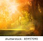 Autumn Or Summer Design...