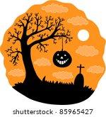 halloween illustration | Shutterstock .eps vector #85965427