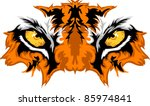 tiger eyes mascot graphic | Shutterstock .eps vector #85974841