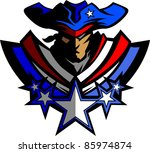 american,colonial,face,graphic,hat,head,high school,illustration,image,mascot,militia,minuteman,patriot,revolution,revolutionary