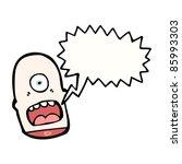 cartoon halloween severed... | Shutterstock .eps vector #85993303