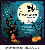 halloween design | Shutterstock .eps vector #86000179