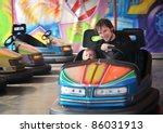 the fairground attractions at... | Shutterstock . vector #86031913