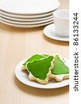 Christmas Cookies On A Plate I...