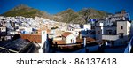 panoramic view of the village... | Shutterstock . vector #86137618