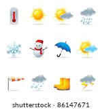 Web Icons   Weather