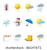 Web Icons   Weather