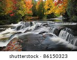 Bond Falls   Beautiful Autumn...