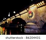 London Bridge During Christmas