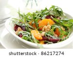 Rocket With Orange And Beetroot ...