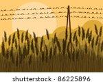 Birds On Wires In Autumn...