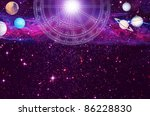 Astrological Chart With Planet...