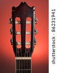 Close Up Of Classic Guitar...