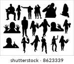 lie fallow | Shutterstock .eps vector #8623339
