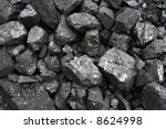 closeup of fossil fuel ready... | Shutterstock . vector #8624998