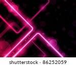 vector   red  lines background... | Shutterstock .eps vector #86252059