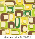 retro pattern vector | Shutterstock .eps vector #86260639