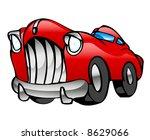 red limousine | Shutterstock .eps vector #8629066