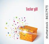 vector editable illustration of ... | Shutterstock .eps vector #86317975