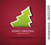 Christmas Tree Applique Vector...