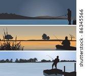 fishing. vector illustration   Shutterstock .eps vector #86345566
