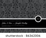 vector distressed pattern and... | Shutterstock .eps vector #86362006