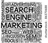 search engine marketing sem... | Shutterstock . vector #86370688