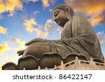 giant sitting buddha.. hong kong