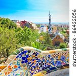 barcelona  spain   july 25 ... | Shutterstock . vector #86432056