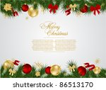detailed realistic  christmas... | Shutterstock .eps vector #86513170