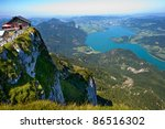 The Mondsee In Austria Seen...