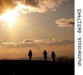 people go to heaven.... | Shutterstock . vector #86517445